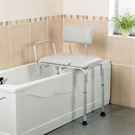transfer benches for the bathtub homecraft padded bath transfer bench sports supports