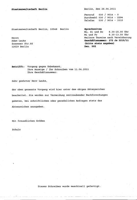 Schreiben An Staatsanwaltschaft Muster Anzeige Wegen K 246 Rperverletzung Welche Folgen
