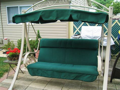 replacement patio swing cushions and canopy another made in usa costco patio swing replacement canopy
