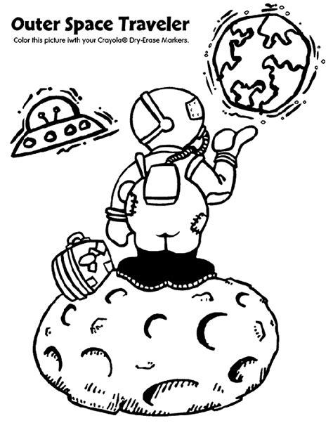 coloring pages outer space free outer space travel crayola ca