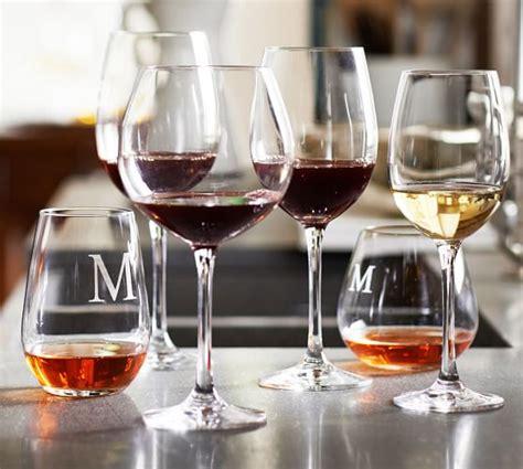 schott zwiesel barware schott zwiesel wine glasses set of 6 pottery barn