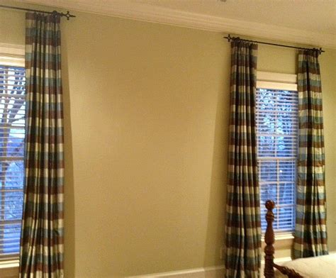 blue and green plaid curtains blue green brown silk plaid curtain panels