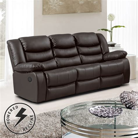 Brown Recliner Sofa Living Room White Recliner Sofa Corner Sectional Brown Russcarnahan