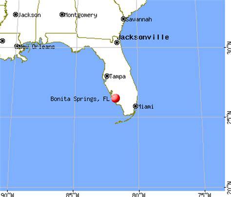 bonita springs florida map bonita springs florida fl profile population maps