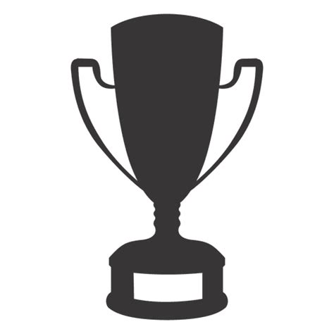 cup silhouette png trophy silhouette transparent png svg vector