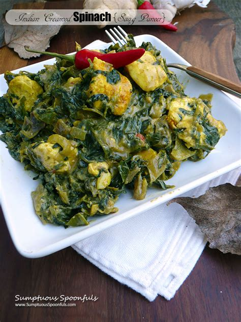 Spinach And Cottage Cheese Indian Recipe by Spinach With Indian Cheese Recipe Dishmaps