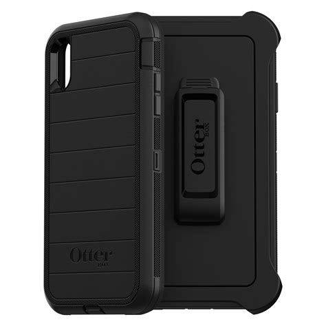 otterbox defender series pro for iphone xs max black walmart