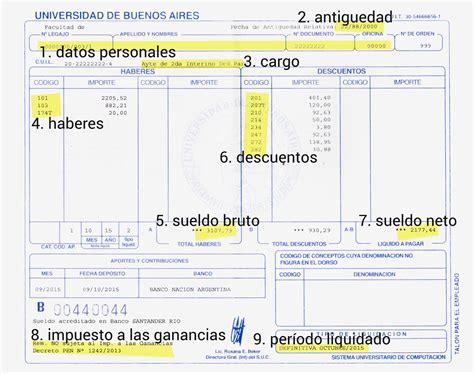 recibo de sueldo provincia de corrientes recibo de sueldo agduba