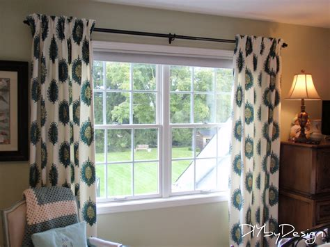 how to make simple lined curtains diy by design how to make lined pinch pleat drapes