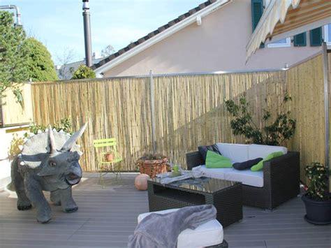 Dachterrasse Sichtschutz by Bambusmatte Als Sichtschutz F 252 R Dachterrasse Ast Mediaevent