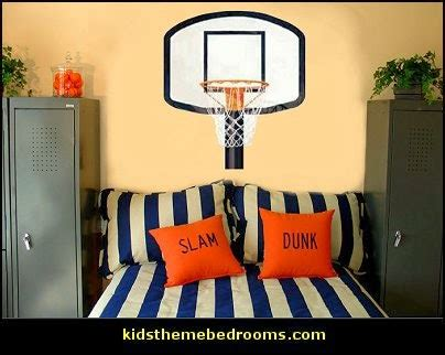 basketball bedroom accessories decorating theme bedrooms maries manor baseball
