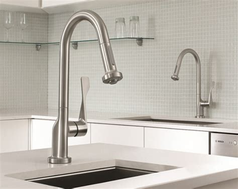 kitchen faucet styles commercial style kitchen faucet new axor citterio prep