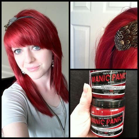 manic panic infra red reviews manic panic red hair color reviews hairstylegalleries com