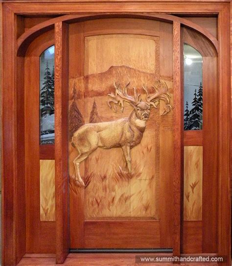 Custom Wood Front Door Custom Wood Exterior Doors Marceladick