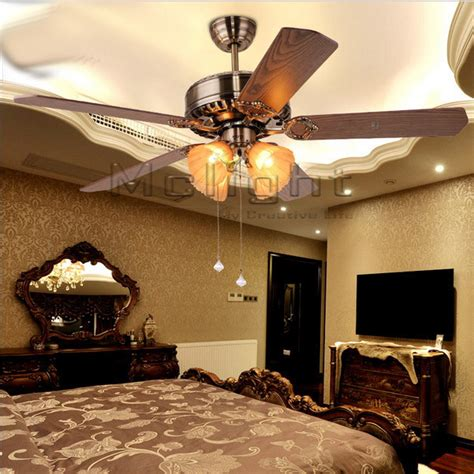 dining room lighting fixture lighting ceiling fans new arrival cheap retro ceiling fan lights 5 blades 52