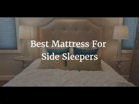 Top 5 Beds For Side Sleepers - top 5 best mattress for side sleepers 2018
