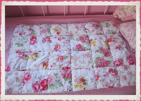 Cath Kidston Patchwork Quilt - all cath kidston fabrics baby s cot quilt in patchwork