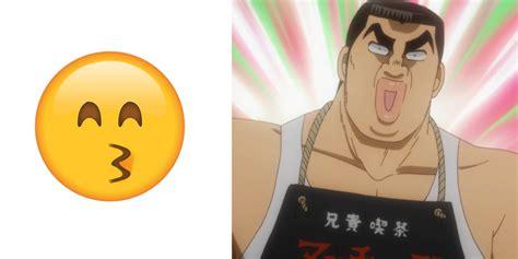 anime emoji 10 anime screenshots that strongly resemble emoji sentai