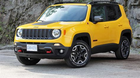 jeep renegade 2016 jeep renegade trailhawk review big guy small car
