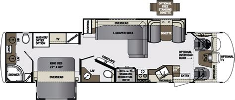 Georgetown Floor Plan by 2017 Forest River Georgetown Xl 369ds Camping World Of