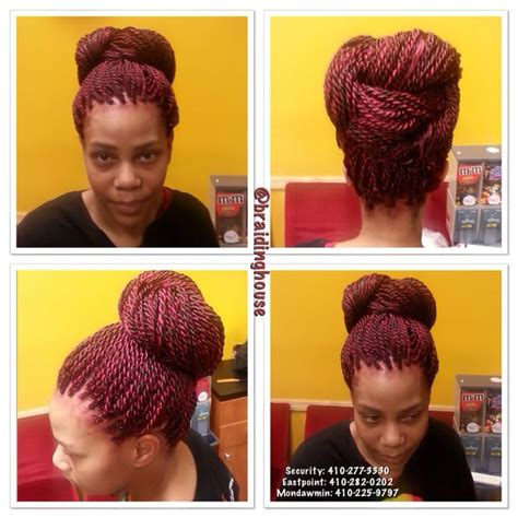 different colored segelese twists colored senegalese twists by the braiding house