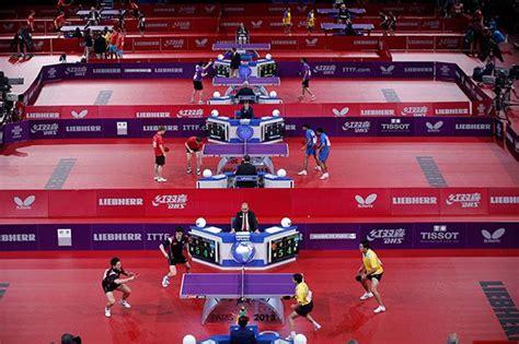 mondiali tennis tavolo ping pong mondiale la foto giorno corriere della sera