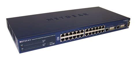 Switch Managed 24 Port netgear fsm726 v2 prosafe 24 port 10 100 managed switch w 2 gbic ports ebay