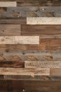 reclaimed barn wood feature wall residence october