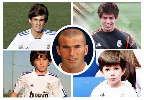 los hijos de los zinedine zidane labels real madrid s transfer ban as absurd video 101 great goals