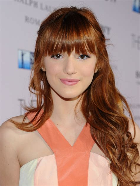 curly hairstyles with long bangs bella thorne long curly hairstyles with bangs fashion