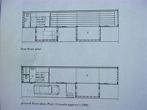 Townhouse Plan red door borneo house plot 12 mvrdv