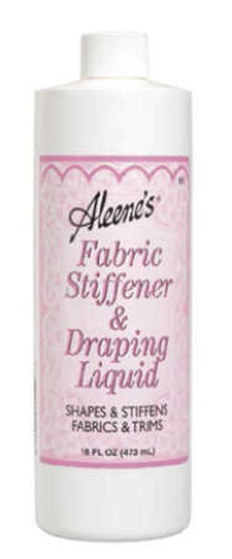 fabric stiffener and draping liquid aleene s fabric stiffener and draping liquid mediums and