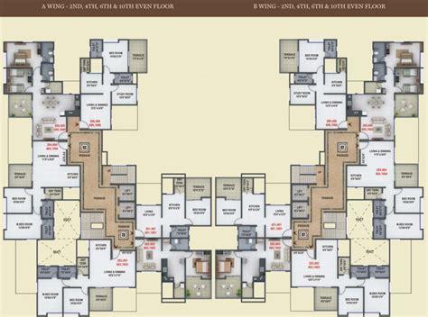 1 renaissance sq unit 17c floor plan gagan renaissance in undri pune price location map