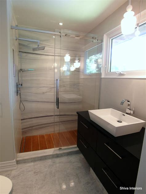 split level bathroom merali split level contemporary bathroom ottawa by