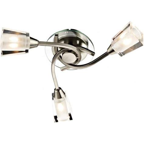dar lighting 3 light semi flush ceiling fitting
