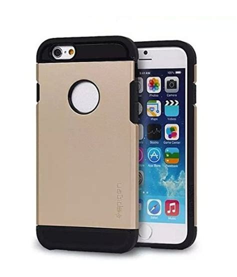 Hp Iphone hp tpu plastic back cover for iphone 6 golden buy hp tpu