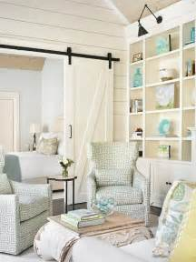 Solid Wood Room Divider Bookcase Greek Key Chairs Cottage Living Room Tillman Long