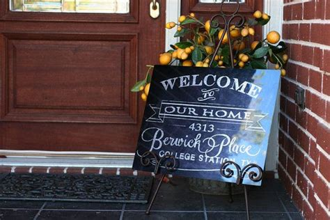 Personalized Front Door Signs Personalized Family Front Door Welcome Sign Customized With Your Nam