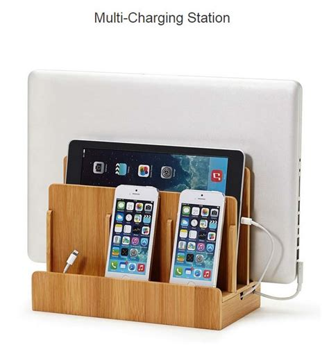 Diy Wireless Phone Charging Station a charging station valet for multiple devices