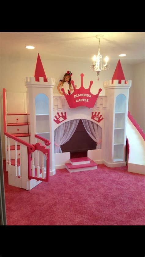 bunk bed castle new diamond s custom princess castle bed