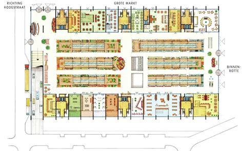 market mall floor plan gallery of market hall in rotterdam mvrdv 9