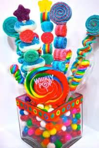 Candyland Favors by Sweet Stick Kabob Skewers Arrangement Edible Favors