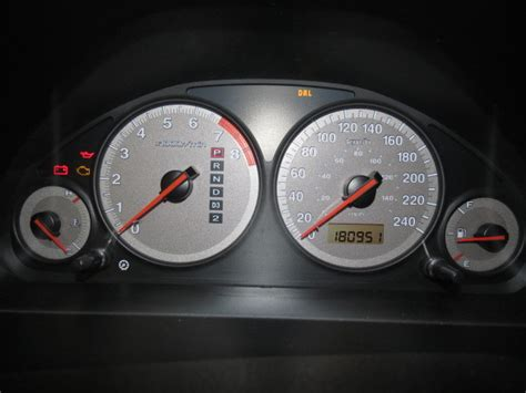 2002 honda civic speedometer instrument cluster gauges