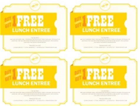 free printable restaurant coupons templates cafe coupon template marketing archive