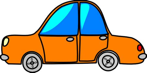 cartoon car png car orange cartoon clip art at clker com vector clip art