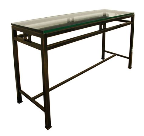metal console tables carew jones