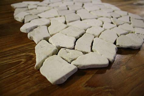 1m 178 bruchmosaik netz naturstein stein marmor fliese boden - Fliese Stein