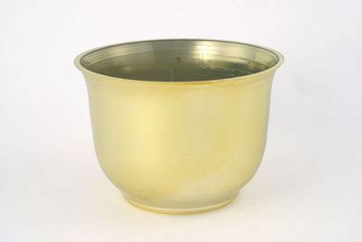 Large Silver Planter by Vo 301 2 6 Quot Large Plastic Spun Planter Gold Or Silver