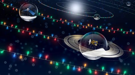 happy holidays  solar system edition nasa solar system exploration