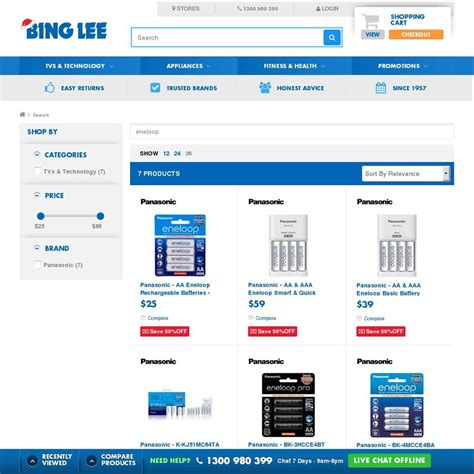 Bing Lee Gift Card - 50 off on eneloops bing lee e g 4xaa or 4xaaa for 12 50 pack more ozbargain